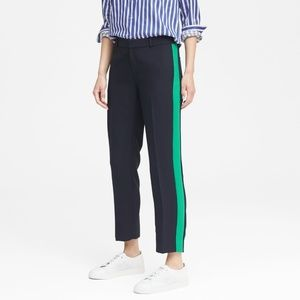 Avery straight fit side strip ankle pant